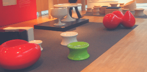 Pastille chair & Tomato chairs