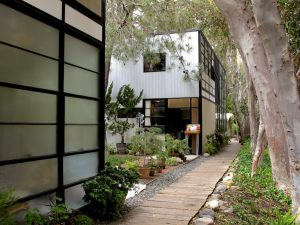 The Eames House aka Case Study House #8 Charles and Ray Eames