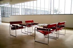 Marcel Breuer: Wassily chairs in the Bauhaus building