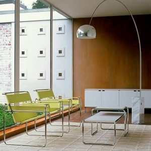 Wassily Chair and Arco lamp